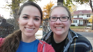 Nice, relaxing day with Bethany! Yay Sioux Falls!